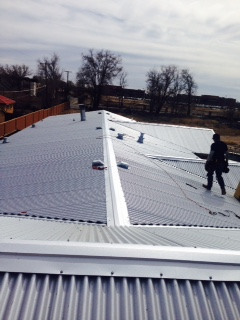 Corrugated metal Commercial Roofing Inspections in the Greater Albuquerque, New Mexico Area